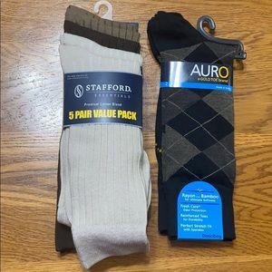 Men's dress socks.  NWT